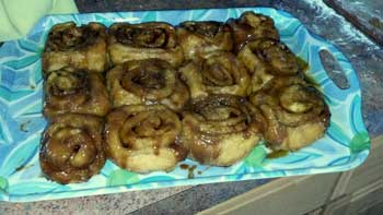 These are for me some of the absolutely best caramel cinnamon roll that I have ever made or ate.