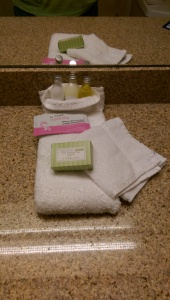 What do you do with hotel toiletries?